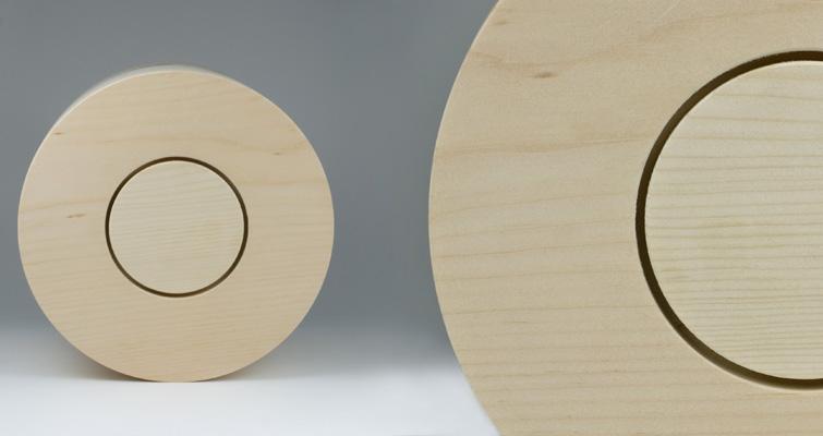 yasura s ulen urne aus massivem weymouth holz by urne. Black Bedroom Furniture Sets. Home Design Ideas
